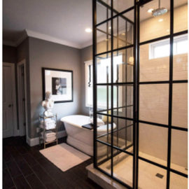 Framed Shower w- Grids
